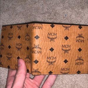 Tan Mcm wallet
